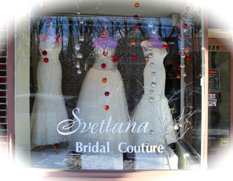 couture wedding salon