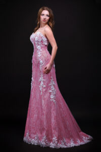 pink wedding dress collection 1