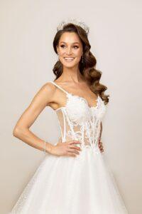 illusion lace wedding dresses