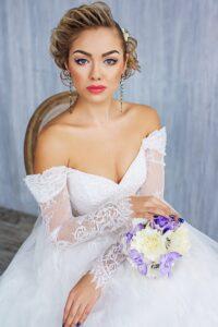 illusion lace wedding dress svetlana bridal