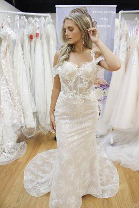 lace wedding dresses new york